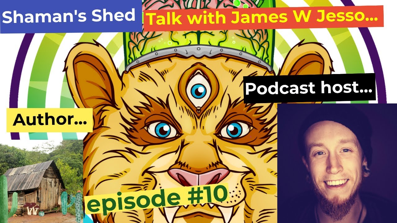 #10 Talk With James W Jesso   Psychedelic Experiences, Ayahuasca, Mindfulness