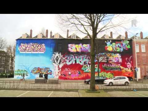 De nieuwe streetart van Rotterdam