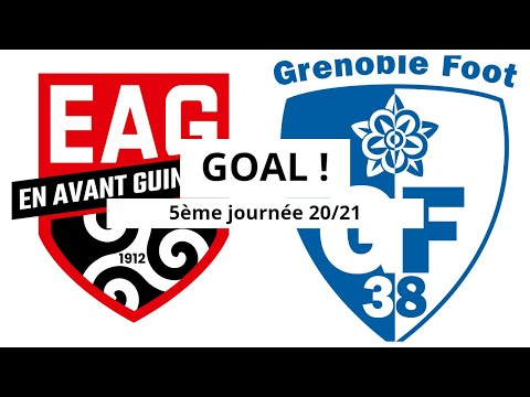 Guingamp Grenoble Goals And Highlights