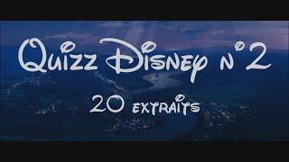 Quizz / Blind Test Disney N°2 - 20 Titres