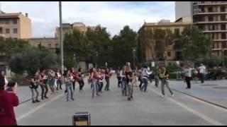 Flashmob mamás y bebés Mallorca