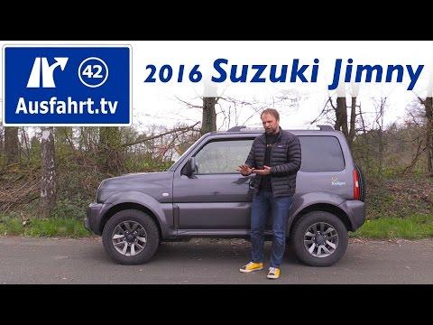 Bild: Suzuki Jimny Ranger 2016 - ein Fahrbericht der Probefahrt