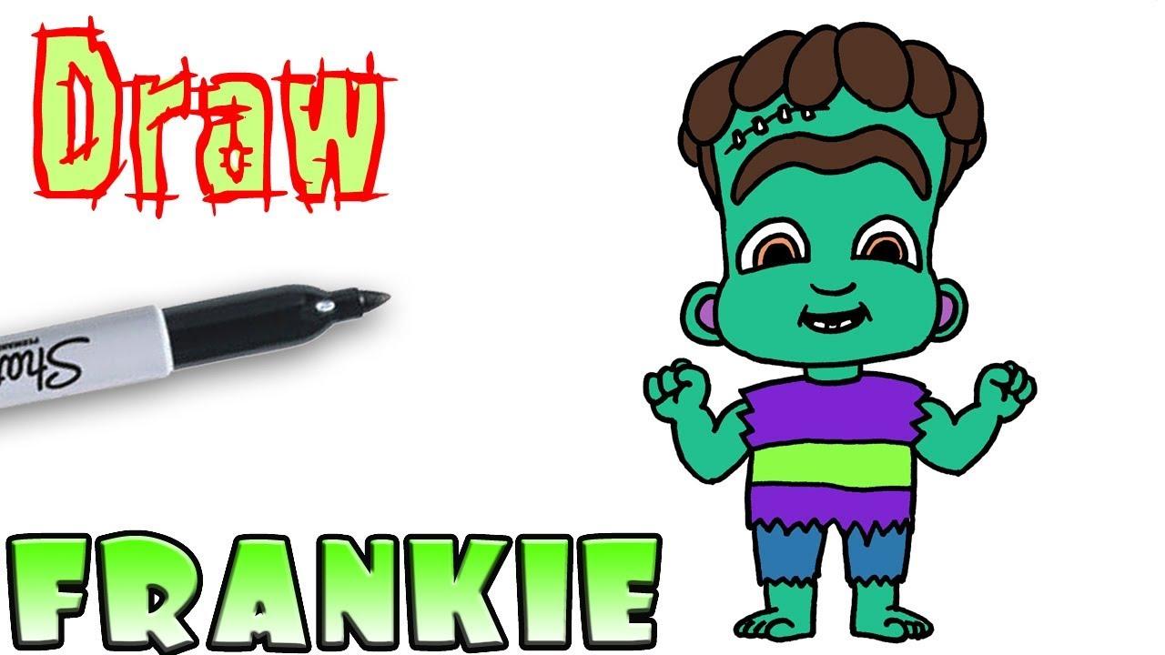 How to draw Frankie