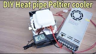 DIY Heat pipe peltier cooler F…
