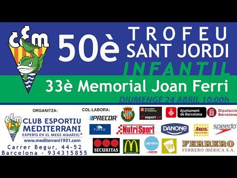 50è Trofeu Infantil Sant Jordi - C.E. Mediterrani - 2016