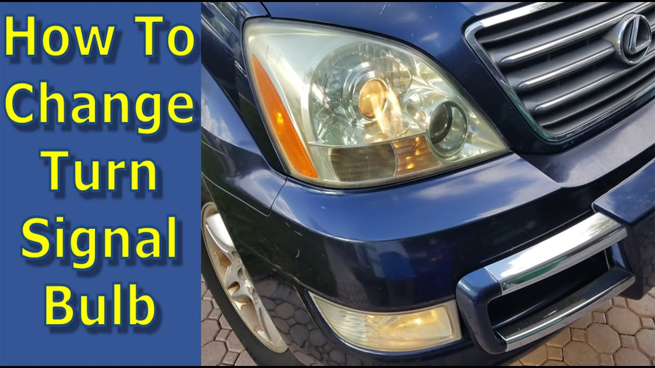 How To Replace Turn Signal Bulbs 5 min Lexus & Toyota Upgrade to