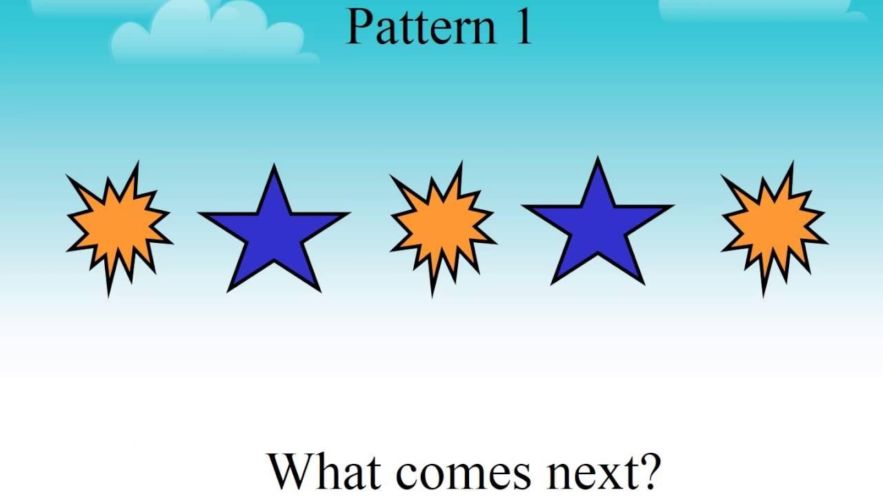 Patterns for preschool - YouTube