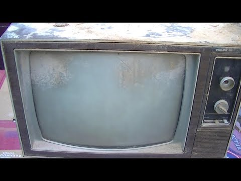 1974 philco-ford solid-state color television Resurrection