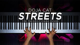 Doja Cat - Streets (Piano Cover by The Theorist) видео