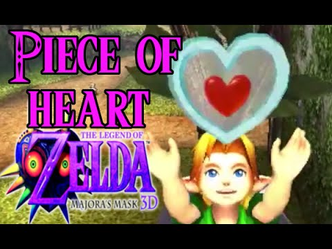 Legend of Zelda: Majora's Mask 3D Piece of Heart Guide