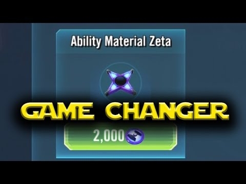 Star Wars: Galaxy Of Heroes - Zeta Ability Mats GAME CHANGER