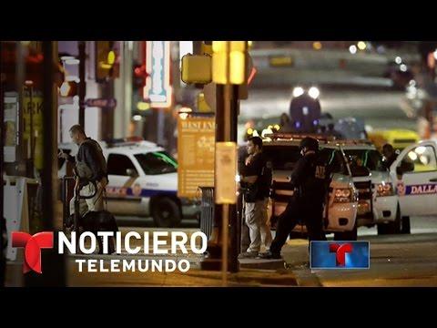 Tensión racial base de la masacre de Dallas | Noticiero | Noticias Telemundo