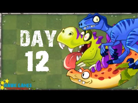 Plants Vs Zombies 2 - Modern Day - Day 12 [Dinosaurs] No Premium