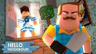 Minecraft: HELLO NEIGHBOR - A SALA SECRETA DO VIZINHO!