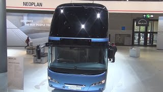 Neoplan Skyliner Bus Exterior and Interior in 3D 4K UHD
