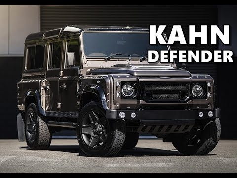 Kahn Land Rover Defender 110 XS - YouTube