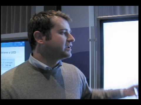 Sharp Roadshow 2012 - Intervista a Alberto Comazzi di HDDS Vision