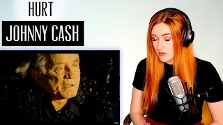 VOICE COACH REACTS   Johnny Cash... HURT. I needed a moment.