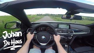 2017 BMW 4 Series 420i Cabrio POV Test drive