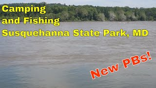 Susquehanna State Park - Camṗing (and Fishing?)