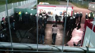 Grödig vs. Sturm | Polizeieinsatz