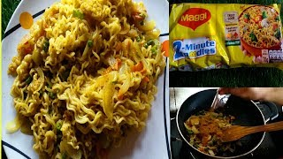 Maggi Recipe/HowTo Make Vegetable Masala maggi/The Most Popular ...