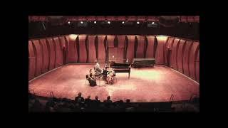 J  Brahms Piano Trio no 1 in B major, Op 8 3  Adagio; Dziewiecka Adams Hirshfield