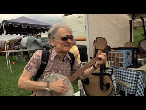 Mike Seeger's Just Around The Bend - Survival and Revival in Southern Banjo Styles (Trailer)