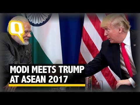 Modi Meets Trump on Sidelines of ASEAN 2017 Summit