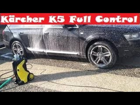 Karcher K5 Premium Full Control 2000PSI , Review & Demonstration. Best pressure washer .