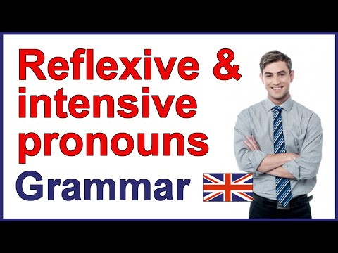 Reflexive pronouns and intensive pronouns in English