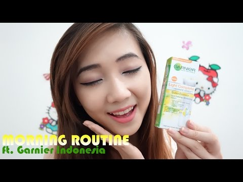 MY MORNING ROUTINE ft. Garnier Indonesia