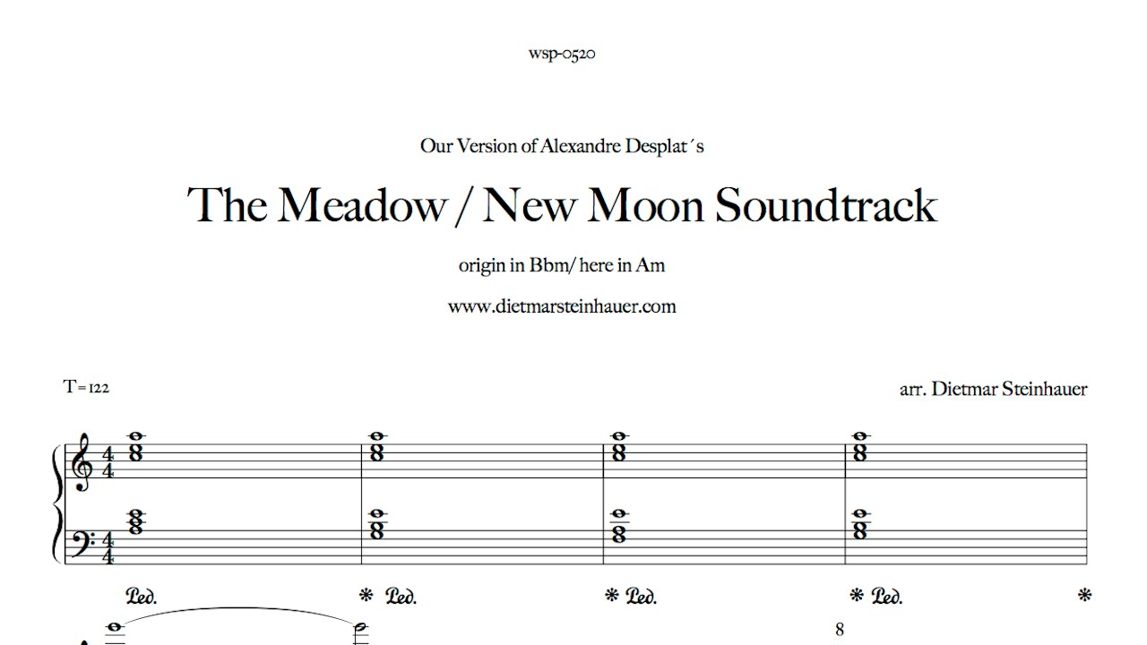 The Meadow New Moon Soundtrack Youtube