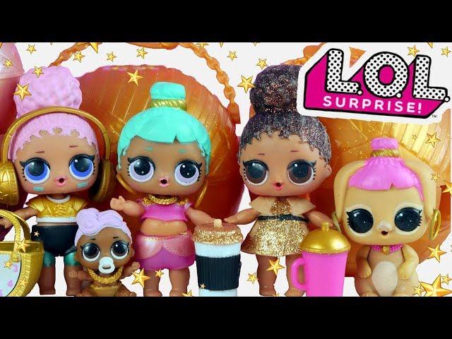 LOL Surprise Gold • Złoty Pokaz Mody !!!! • bajki dla dzieci
