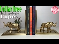 DOLLAR TREE DIY Elephant Bookends