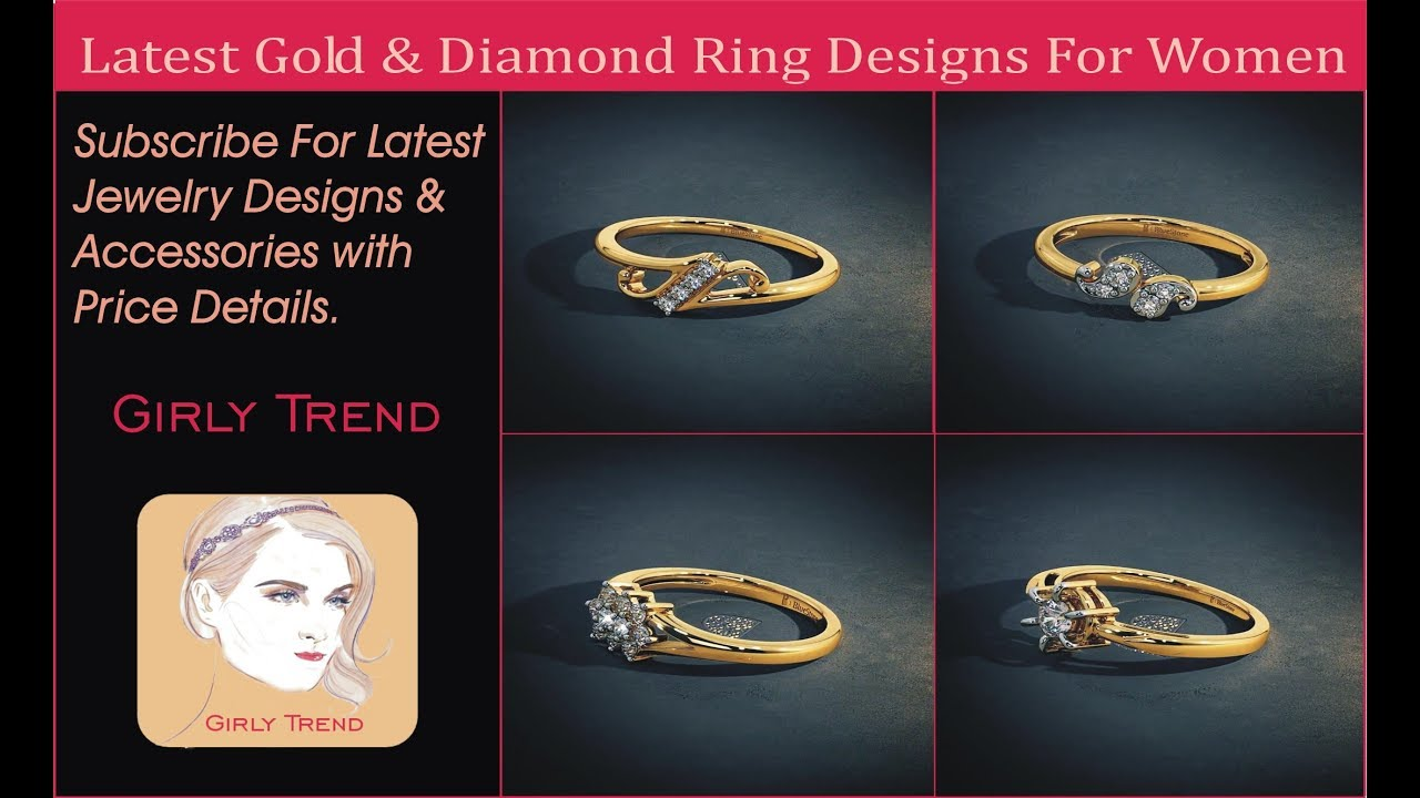 New Top 5 Gold & Diamond Rings Designs For Women At Bluestone ...