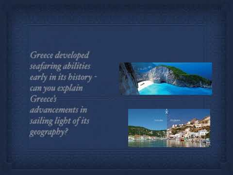 Ancient Greece and geography