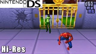 Marvel Nemesis: Rise of the Imperfects - Nintendo DS Gameplay High Resolution (DeSmuME)
