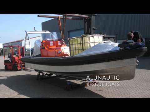 Aluminium workboats presentation Alunautic boats projects