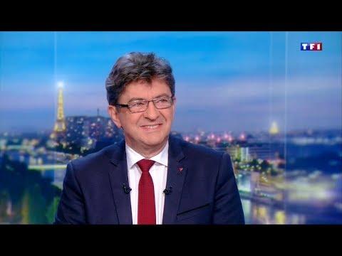 «MONSIEUR MACRON A UNE VISION DE CASTE» - Mélenchon au 20h