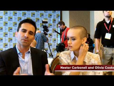 Nestor Carbonell and Olivia Cooke Talk BATES MOTEL