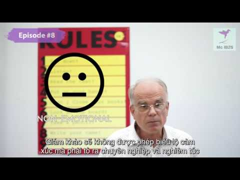 STUPID IELTS STUFF ON THE INTERNET (Episode 8): Is examiner showing NO emotion important?