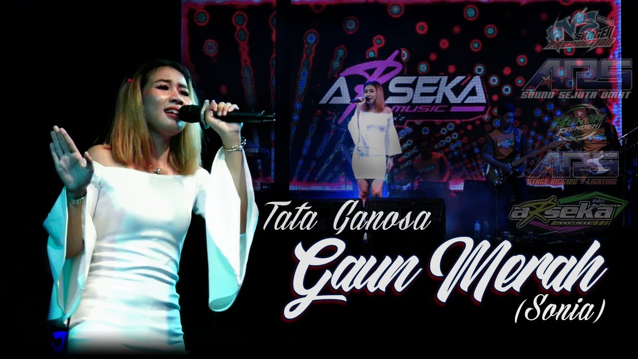 Tata Ganosa - Gaun Merah (Sonia) | Cover ARSEKA Music | ARS Production | HVS Sragen