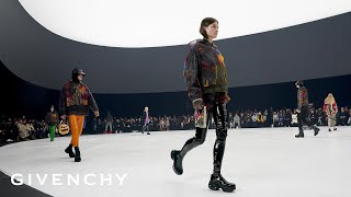 Givenchy Women's and Men's Spring Summer 22 Collection show