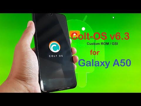 ColtOS v6.3 for Samsung Galaxy A50