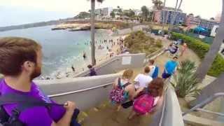 La Jolla Cove Snorkeling 2014