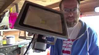 review how to install ebay 30w led floodlight uk