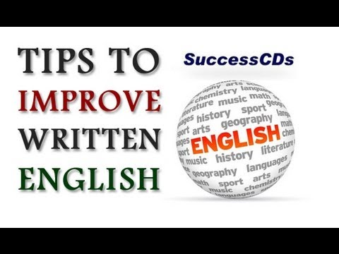how to improve writing skills in english pdf