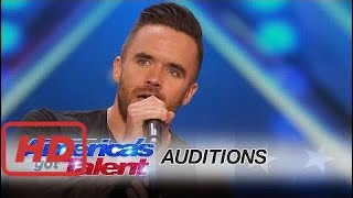 americas got talent auditions brian justin crum singer gets standing ovation with powerful cover