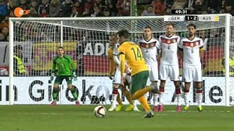 Deutschland - Australien  2:2 die Tore 25.03.15